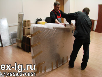 упаковка столов